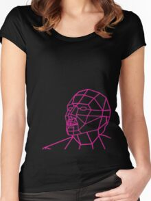 Facial Geometry Women's Fitted Scoop T-Shirt