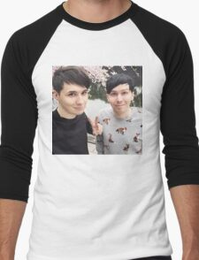 Japhan Dan and Phil - ALL PRODUCTS AVAILABLE Men's Baseball ¾ T-Shirt