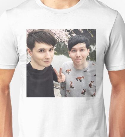 Japhan Dan and Phil - ALL PRODUCTS AVAILABLE Unisex T-Shirt