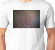 The Conjunction Unisex T-Shirt