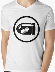 Bullet Bill Mens V-Neck T-Shirt