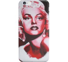 Monochromic Marilyn Monroe iPhone Case/Skin
