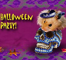 Halloween Party Hamster by jkartlife