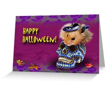 Happy Halloween Hamster Greeting Card