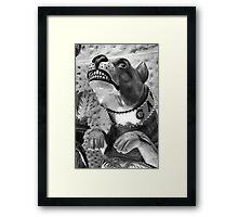 Bulldog Figurehead Framed Print