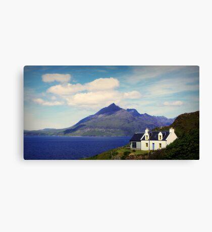 the isle of skye Canvas Print