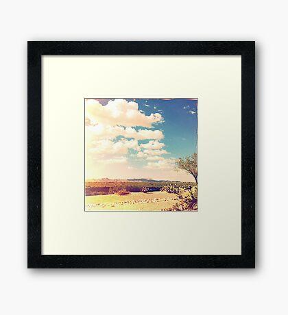 Hipsta Sky Framed Print