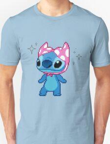 Lilo & Stitch - Stitch Bra Hat Pixel T-Shirt