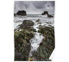 Seascape - Wicklow Poster