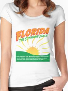 Florida! Women's Fitted Scoop T-Shirt