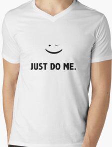 JUST DO ME Mens V-Neck T-Shirt