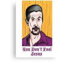 The Jesus Canvas Print