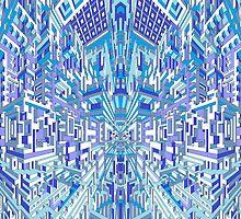 Deeper Blue 2 by AndyWorthyArt