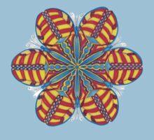 Butterfly Mandala T-Shirt Kids Clothes