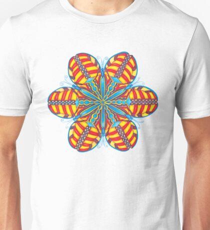 Butterfly Mandala T-Shirt Unisex T-Shirt