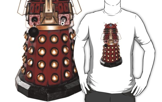 Red Dalek  by kobalos