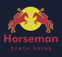 Horseman - Death Drink by KillerBrick Tees