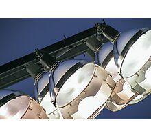 Football Stadium Lights Photographic Print