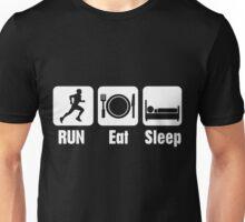 RUN Eat Sleep Unisex T-Shirt