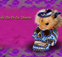 Feliz Dia De Los Muertos Happy Day Of The Dead Hamster by jkartlife