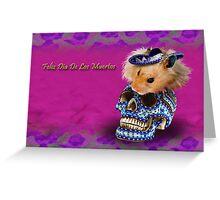 Feliz Dia De Los Muertos Happy Day Of The Dead Hamster Greeting Card