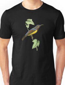 Javanese Creeper Bird Illustration by William Swainson Unisex T-Shirt