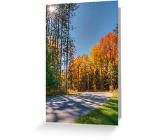 Turning The Corner Greeting Card