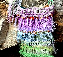 Purples and Greens in BoHo Style by Carla Wick/Jandelle Petters