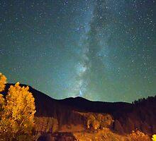 Autumn Milky Way by Bo Insogna