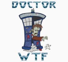 Zombie Doctor Who Kids Tee