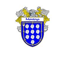 Montoya Coat of Arms/Family Crest Photographic Print
