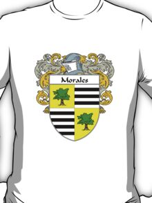 Morales Coat of Arms/Family Crest T-Shirt