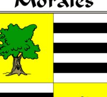 Morales Coat of Arms/Family Crest Sticker