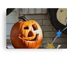 Jack the Homely Lantern Canvas Print