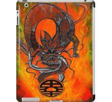 Dragoon ball of fire iPad Case/Skin