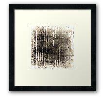 Digital Decay  Framed Print