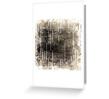Digital Decay  Greeting Card