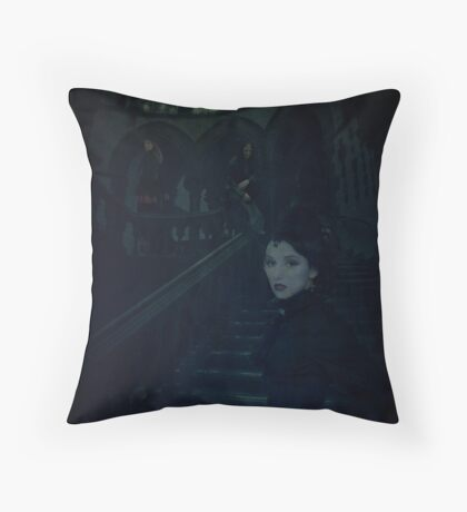 Near Dark Throw Pillow