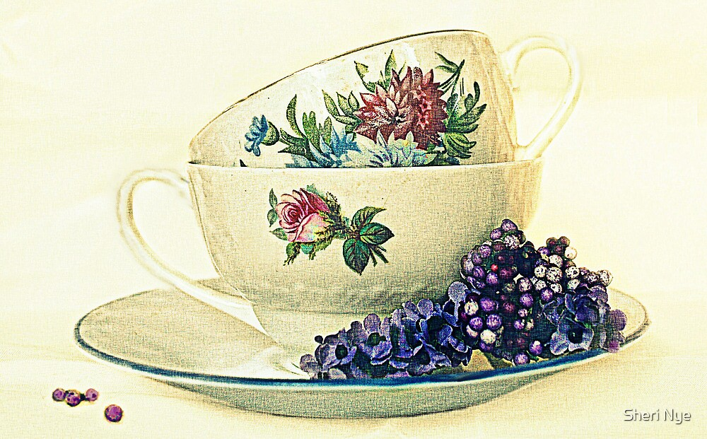 Tea for Two. by Sheri Nye