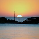 Heron Sunset - Heron Island - Australia by Anthony Wilson