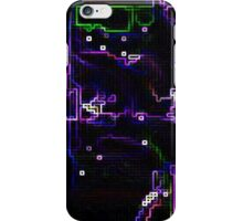 Purple directions iPhone Case/Skin