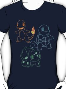 Starter Pokemon T-Shirt