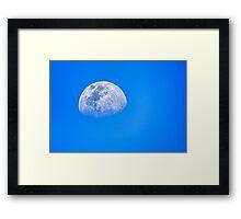 Blue Moon…. Framed Print