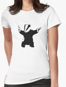 Badgers Fight Back! Womens Fitted T-Shirt