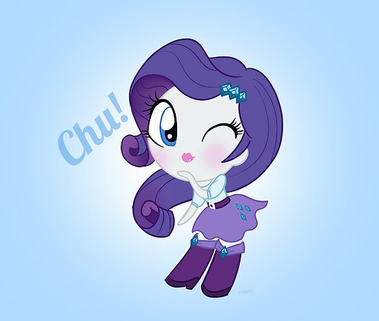 cute Equestria girls - Rarity by Chibi91