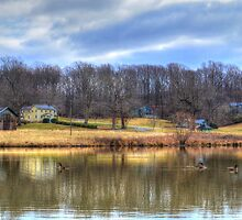 The Pond Behind Montpelier by WestBigSky