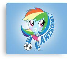 cute Equestria girls - Rainbowdash Canvas Print