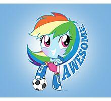 cute Equestria girls - Rainbowdash Photographic Print