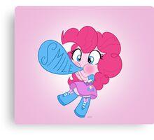 cute Equestria girls - Pinkie Canvas Print