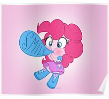 cute Equestria girls - Pinkie Poster